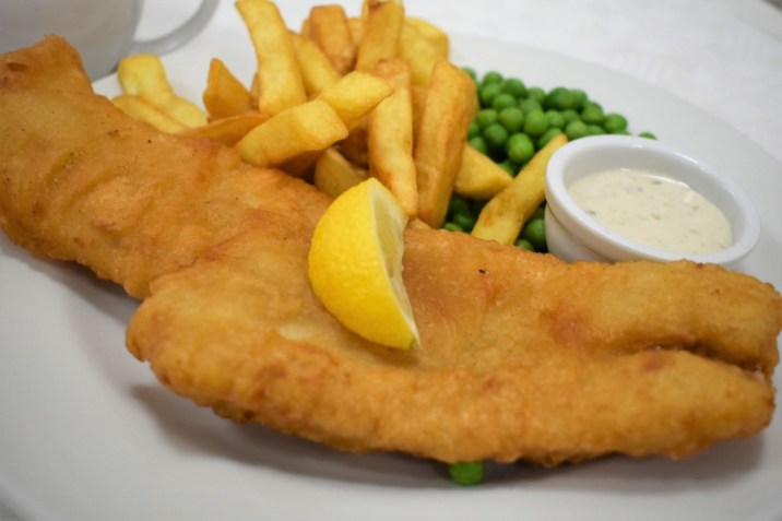 Fish and Chips, Wyevale Garden Centre