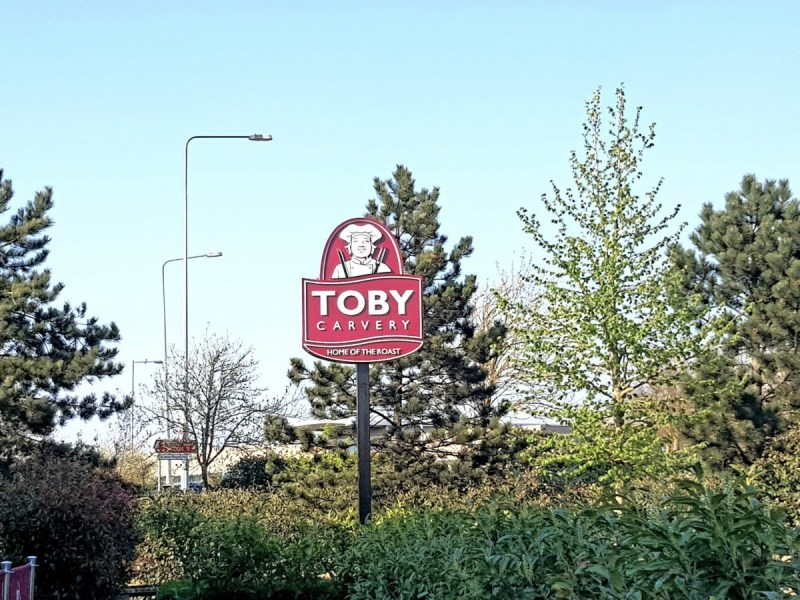 Taking the boys for a midweek meal out – Toby Carvery