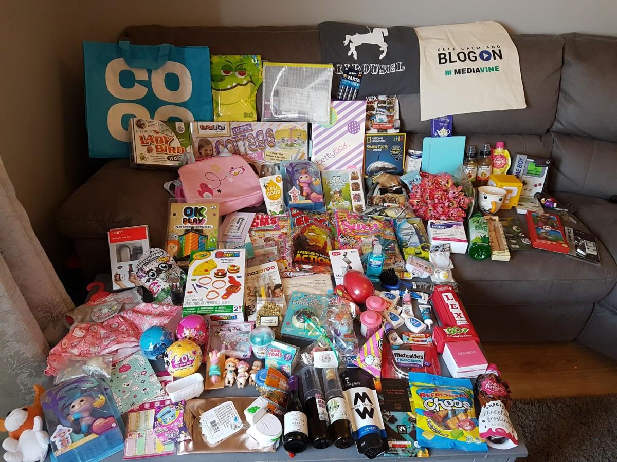 The goody bags at BlogOn