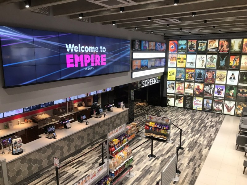 New Cinema Opening – Queensgate Shopping Center