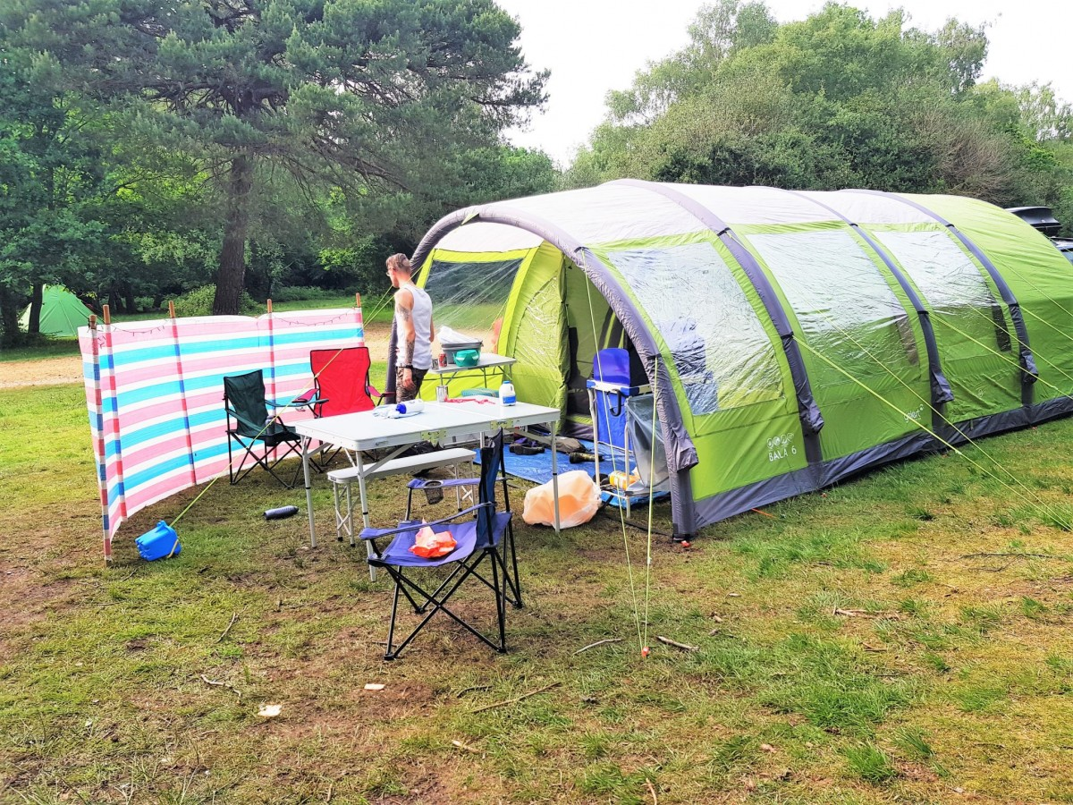 Holmsley Camping and Caravanning Club Site
