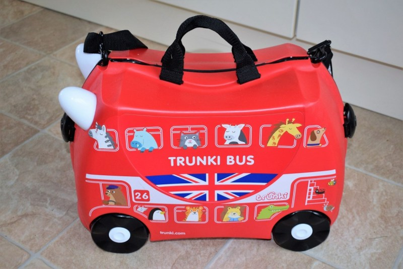 Trunki Suitcase and Toddlerpak Backpack – Win you own Trunki Suitcase!