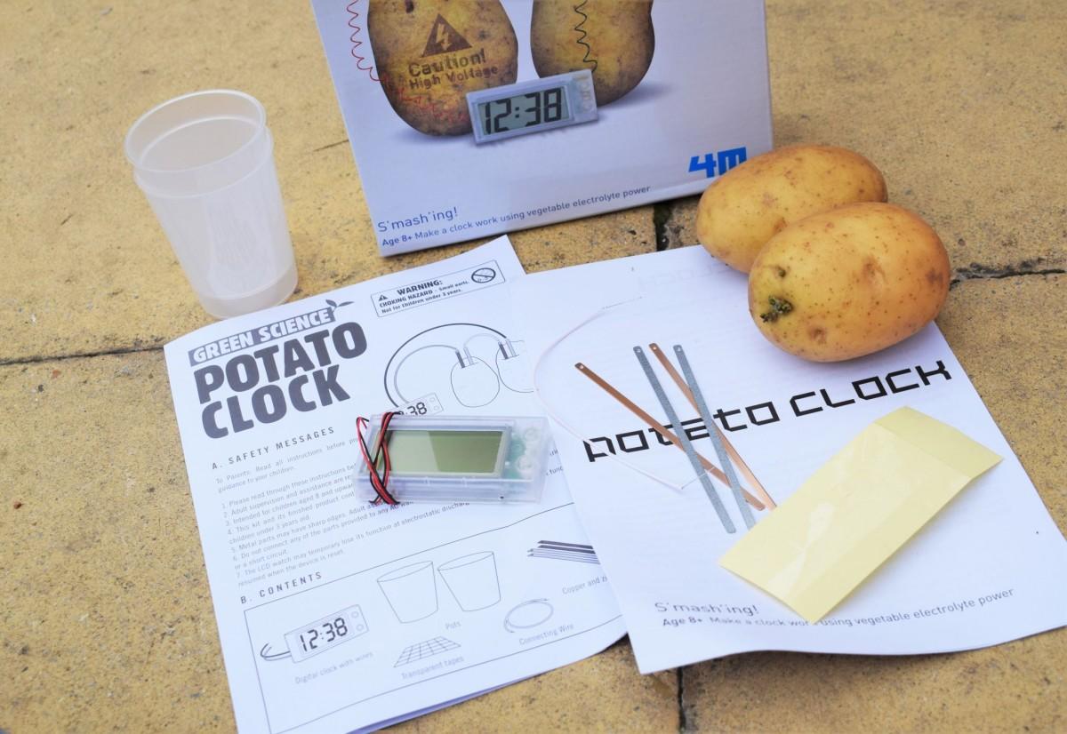 Varta - Potato Clock
