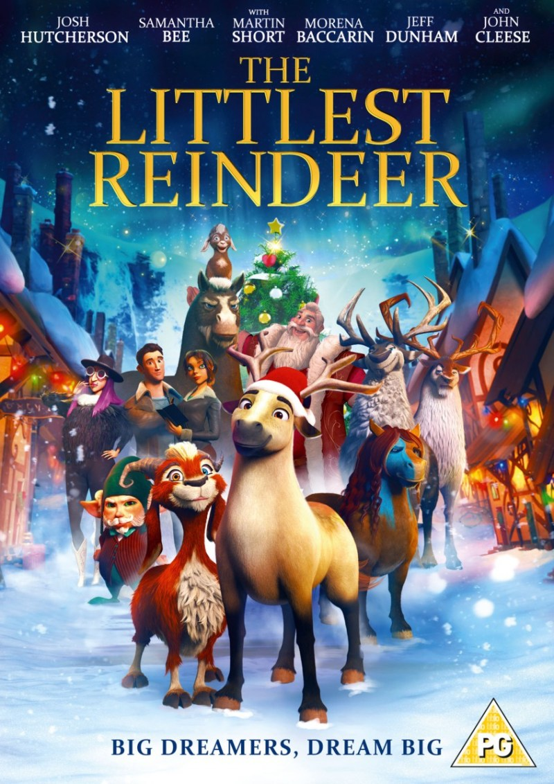 The Littlest Reindeer DVD – Review and Giveaway – The Mum Diaries