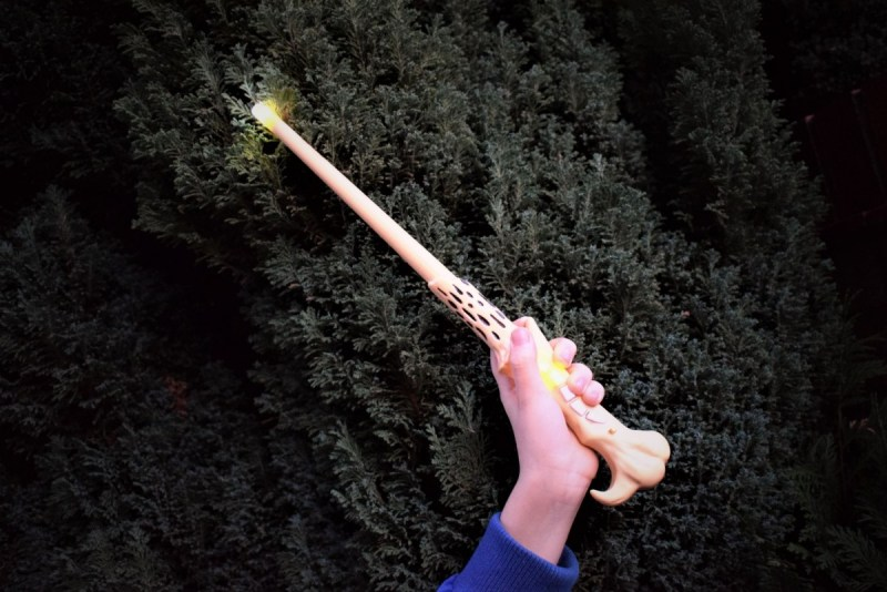 Casting Spells With The Harry Potter Wizard Training Wand