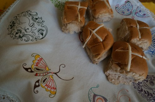 Embroiderery and buns
