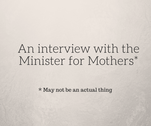 An interview with the Minister for