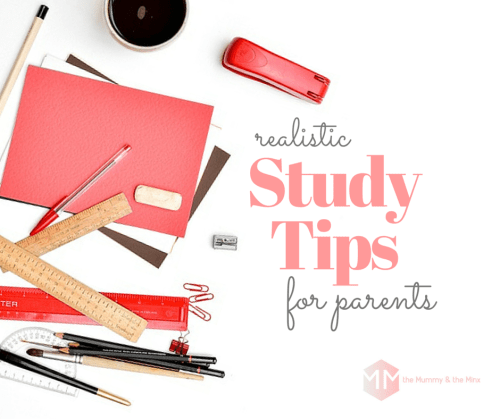 study tips for parents
