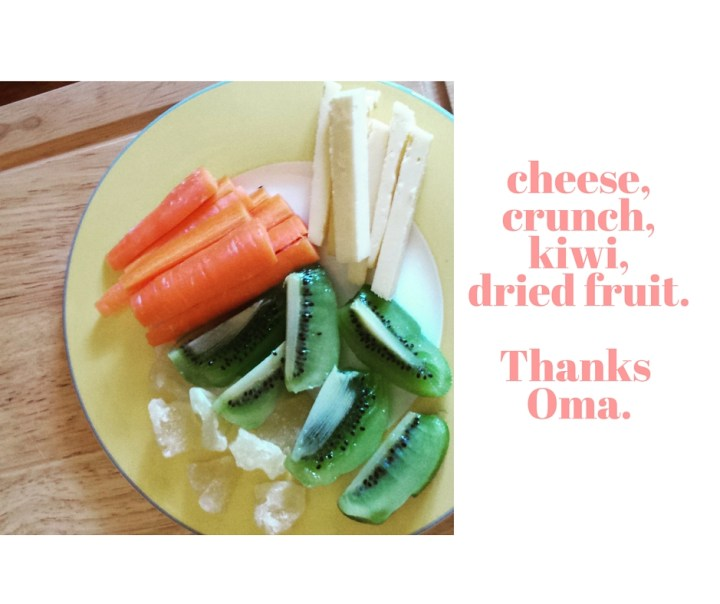 cheese, crunch and kiwi - keeping things fun and fit