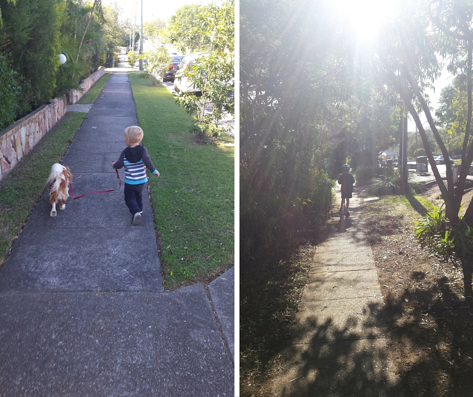 Walking to school - keeping things fun and fit