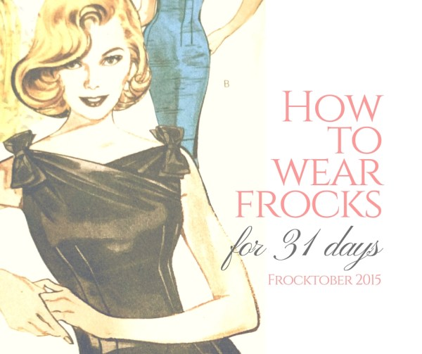 How to wear frocks