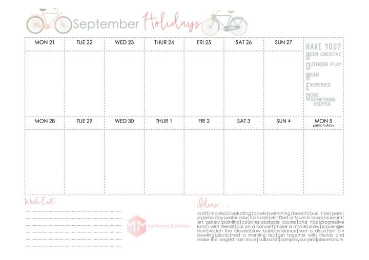 September Holidays 2015 - JPEG