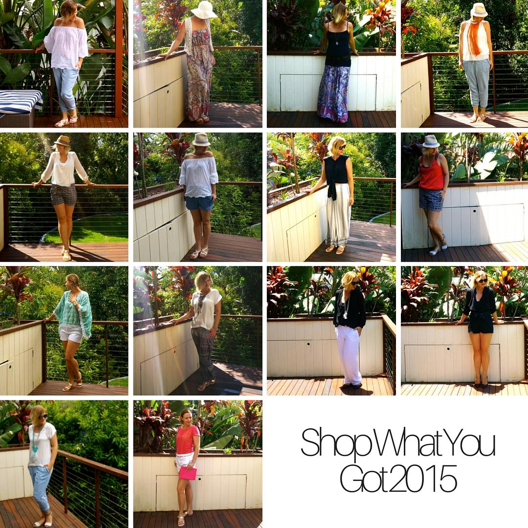 Shop what you got 2015