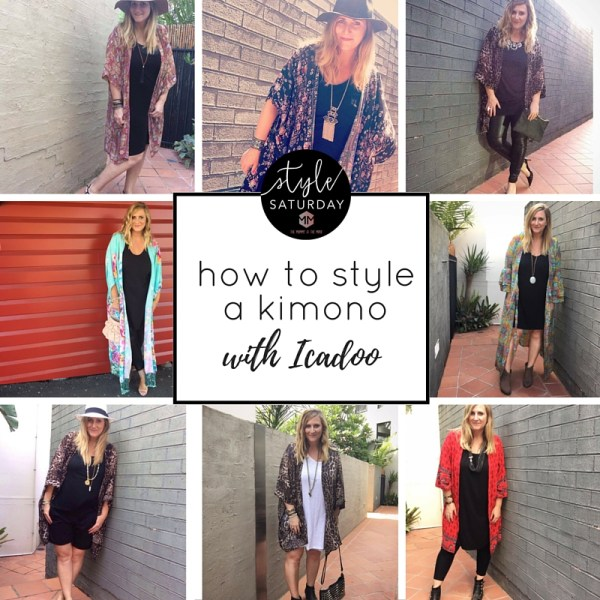 how to style a kimono with Icadoo