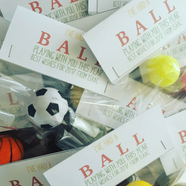 Had a ball Class Gifts