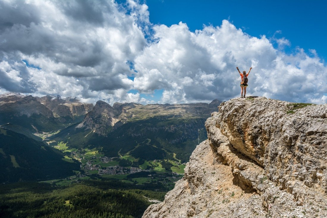 How to stop putting your goals on a pedestal