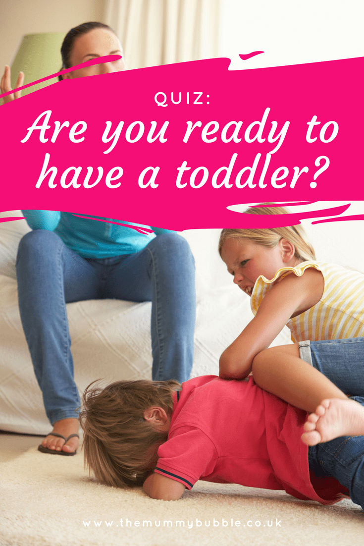 Quiz: are you ready to handle a toddler?