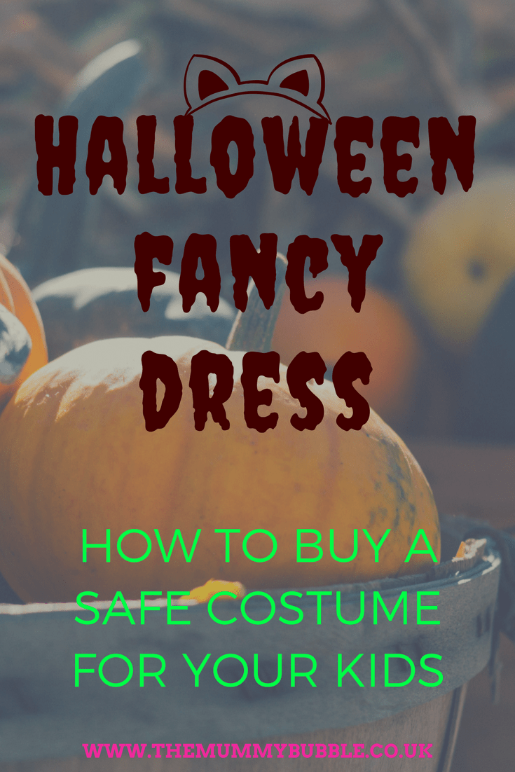 Halloween fancy dress: how to buy safe costumes for your kids