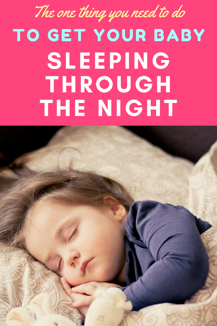 What I did to get my baby sleeping through the night - it worked in just 3 days!