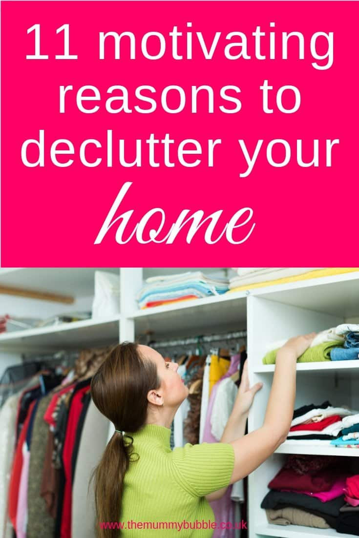 11 motivating reasons to declutter your home - how using the Marie Kondo KonMari method can improve your home