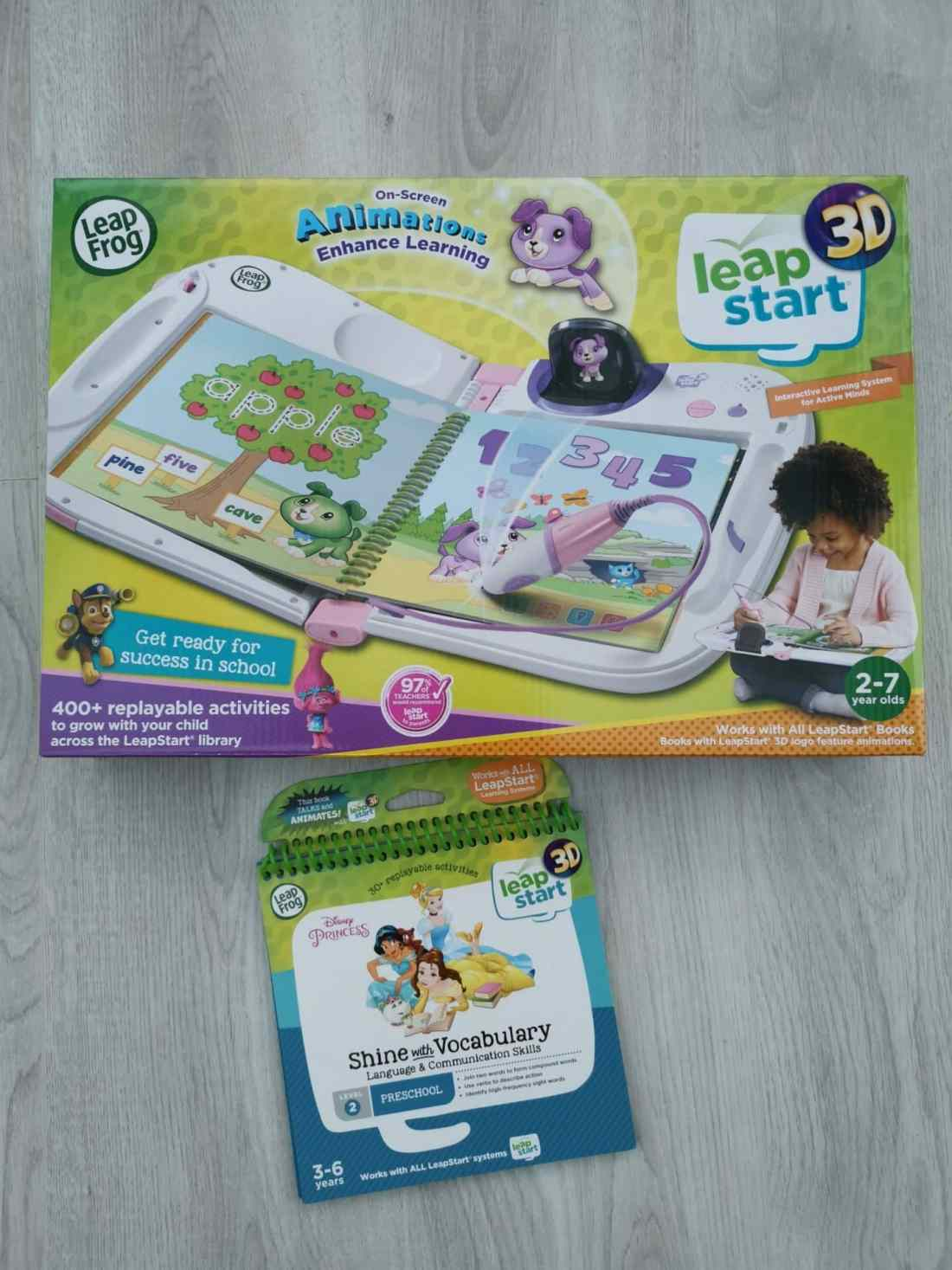 LeapStart 3D by LeapFrog and Disney Princess game
