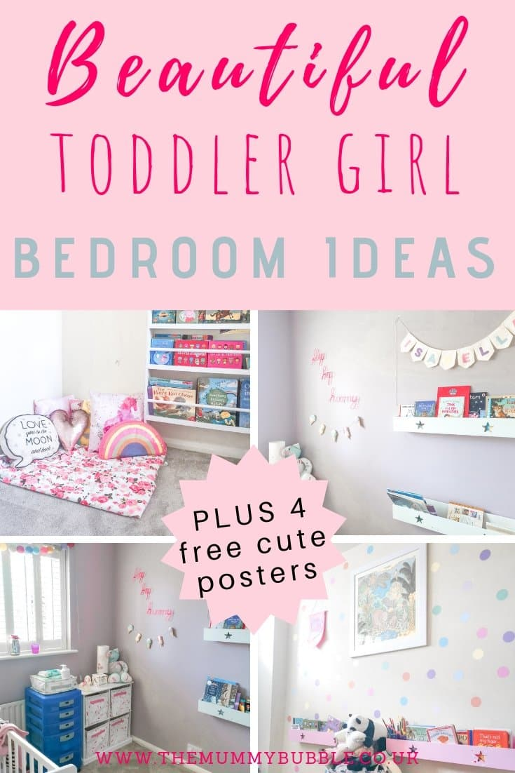 Beautiful toddler girl bedroom ideas - inspiration for decorating your toddler's bedroom