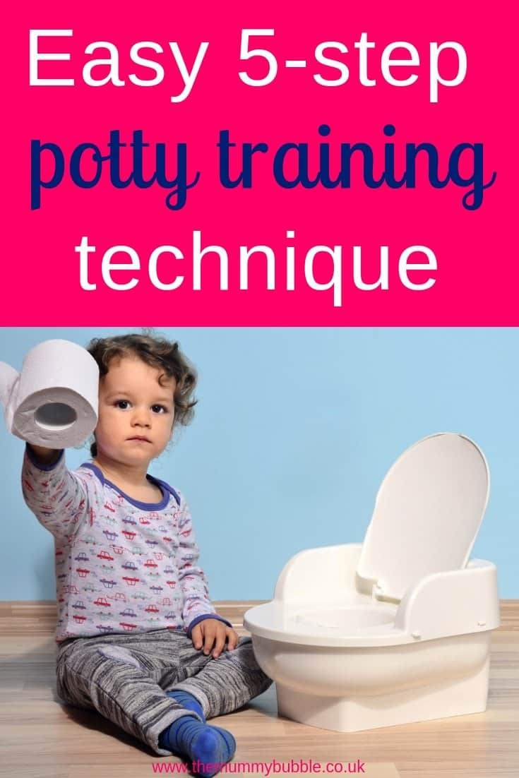 Tips for potty training your toddler - how to potty train in just a few simple stages. This technique can help you potty train your toddler in just a few days.