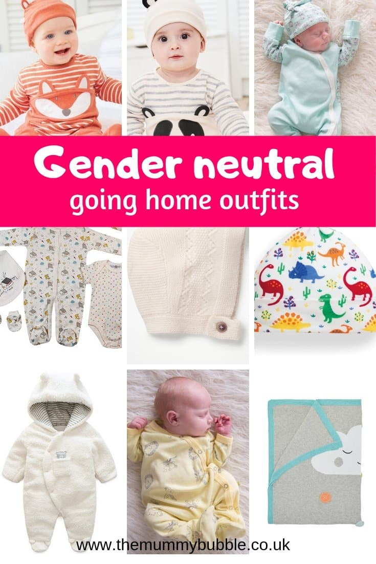 Gender neutral baby going home outfits