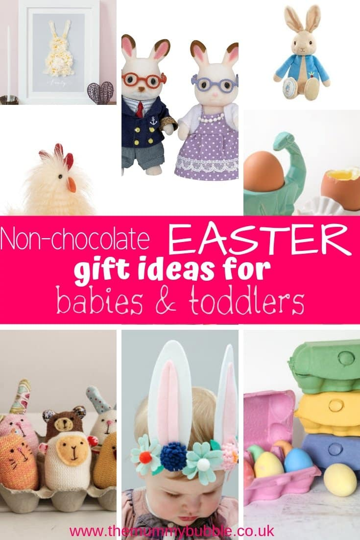 Non-chocolate Easter gift ideas for babies and toddlers