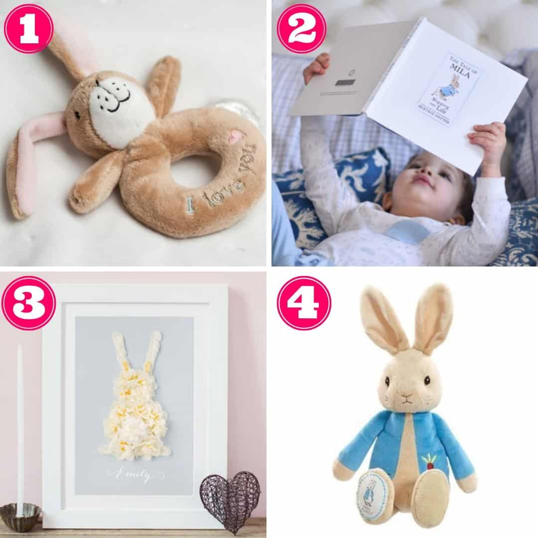 Non-chocolate Easter gifts for babies
