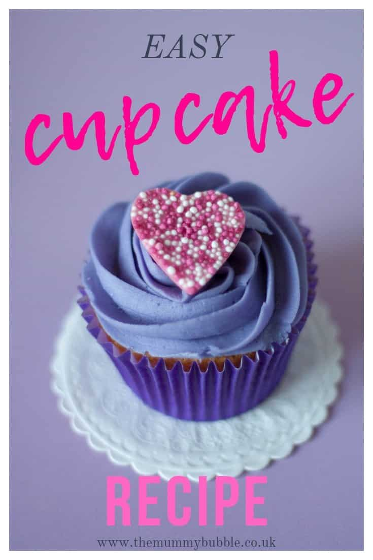 Easy cupcake recipe child-friendly