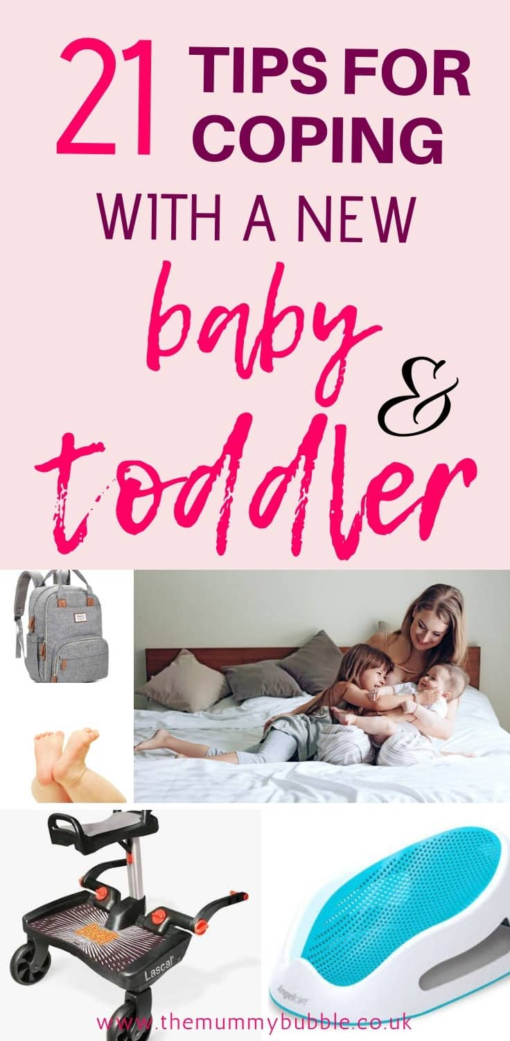 How to cope with a new baby and a toddler