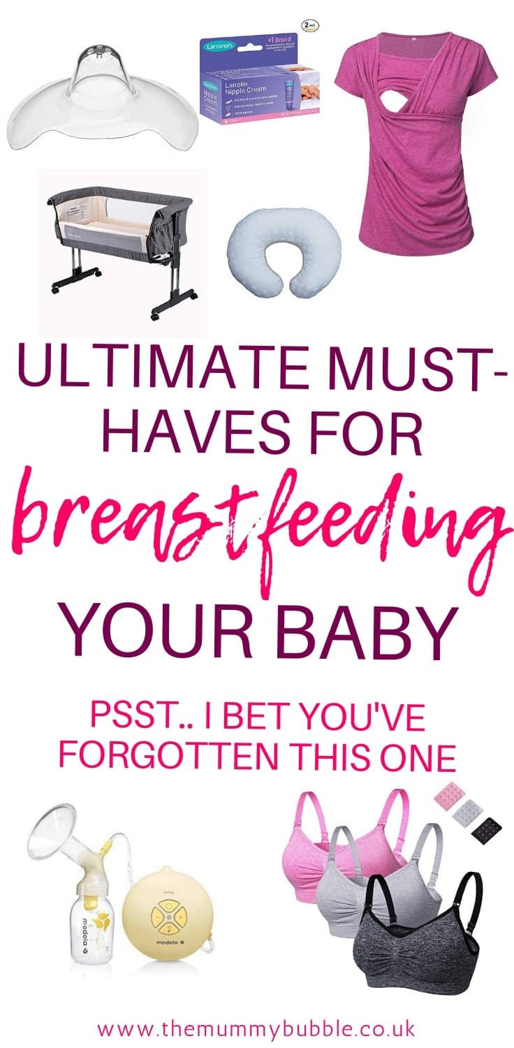 Breastfeeding product essentials you need as a new mama