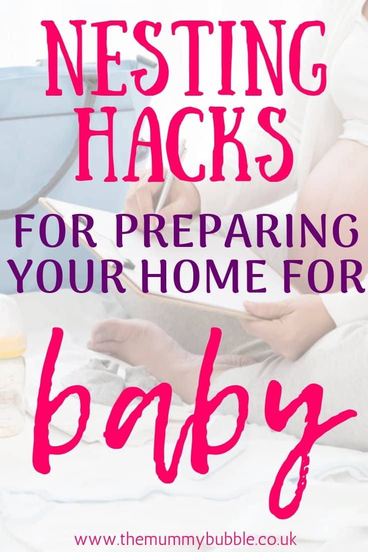 Nesting hacks for preparing your home for baby