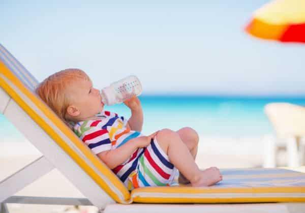 Helping babies sleep in heatwaves