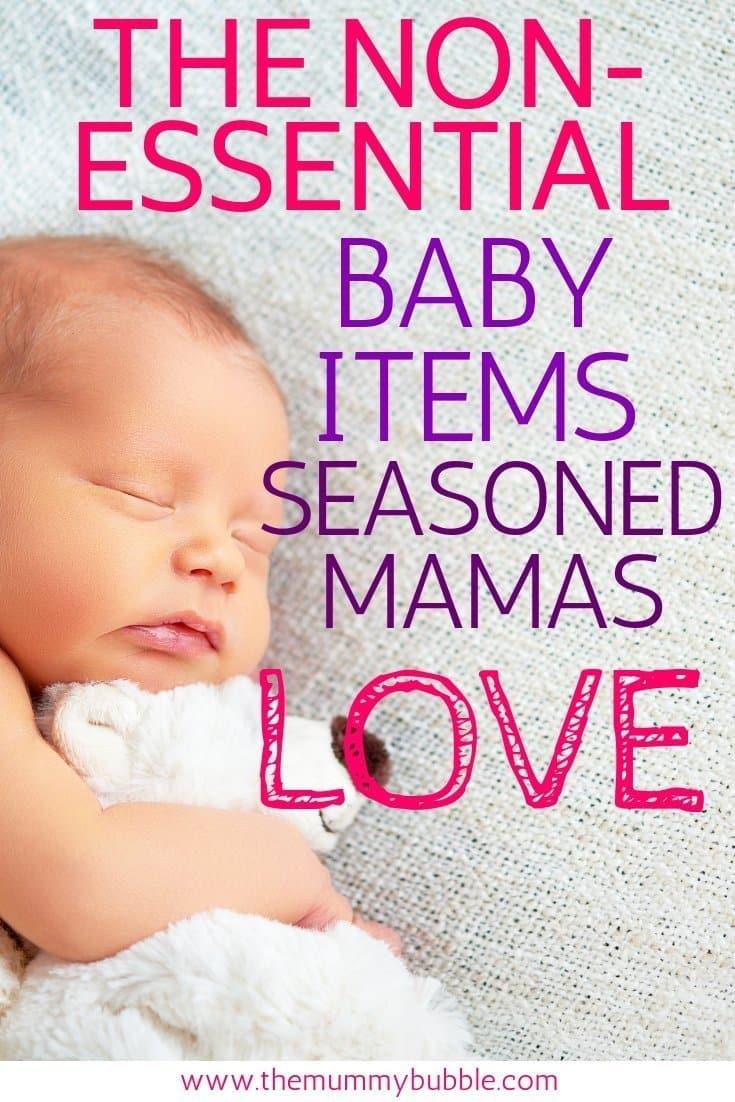 Non-essential baby items seasoned mamas love