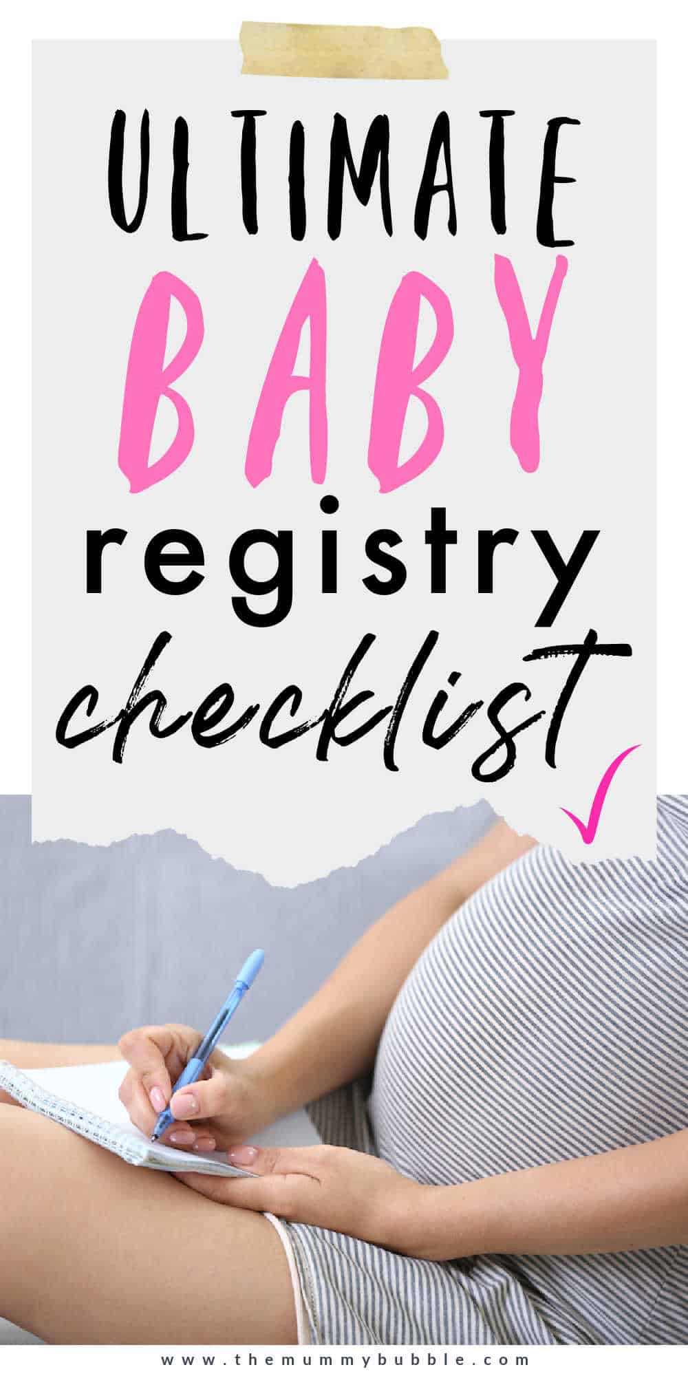 baby registry checklist for expectant mamas