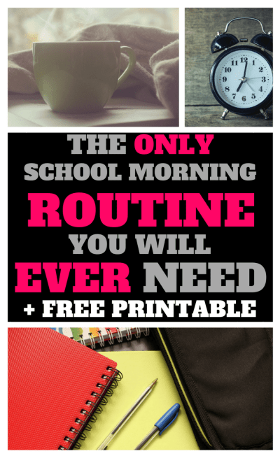 alarm clock, school morning, morning coffee, school routine, school books