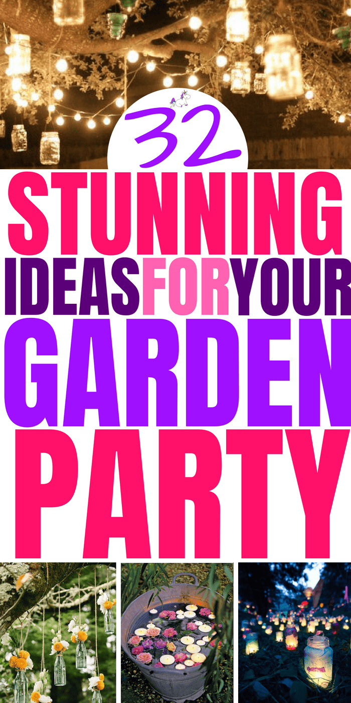 32 Amazing Summer Garden Party Ideas That Will Make Your Party The One To Remember #summerparty #gardenparty #partyideas