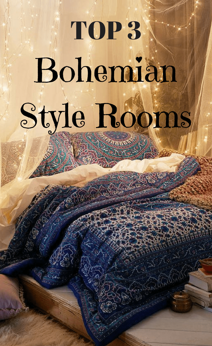 Top 3 Bohemian Style Rooms on Pinterest | boho Home Decor