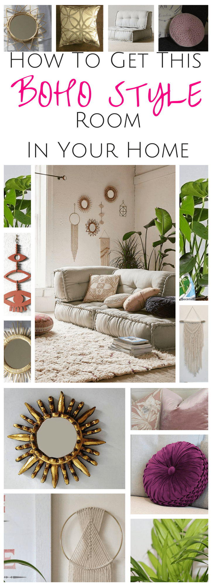 How To Get Bohemian Style Decor In Your Home Without