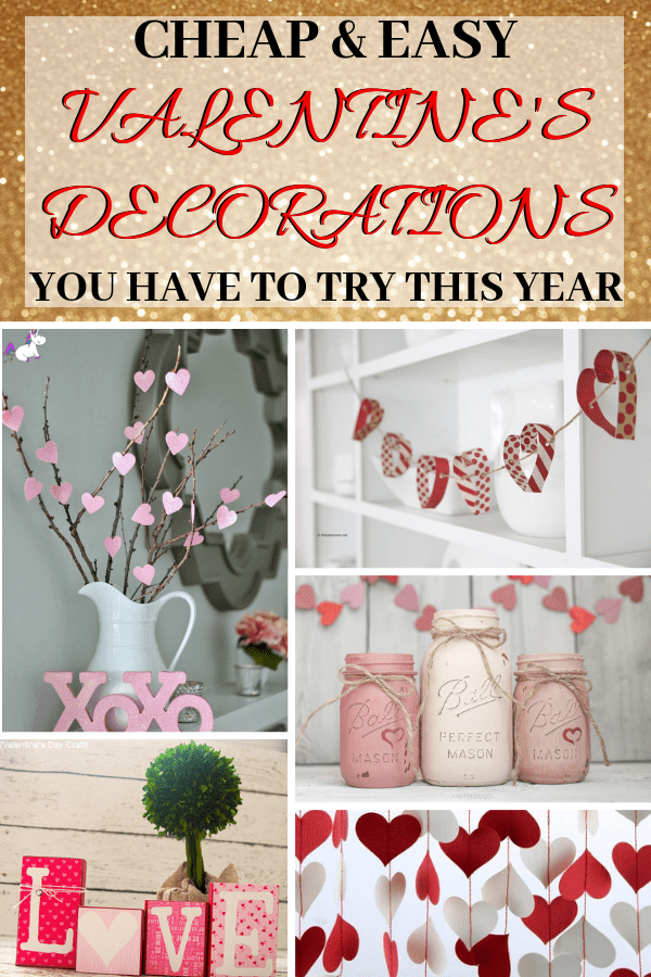 14 Stunning Valentine's Day Decoration Ideas you Will Seriously Fall In Love With This Year! #valentinesdaydecorationideas #valentines #valentinesdaycrafts #valentinesdecor #themummyfront Via: https://themummyfront.com   cute decor   home decor on a budget   Valentines diy