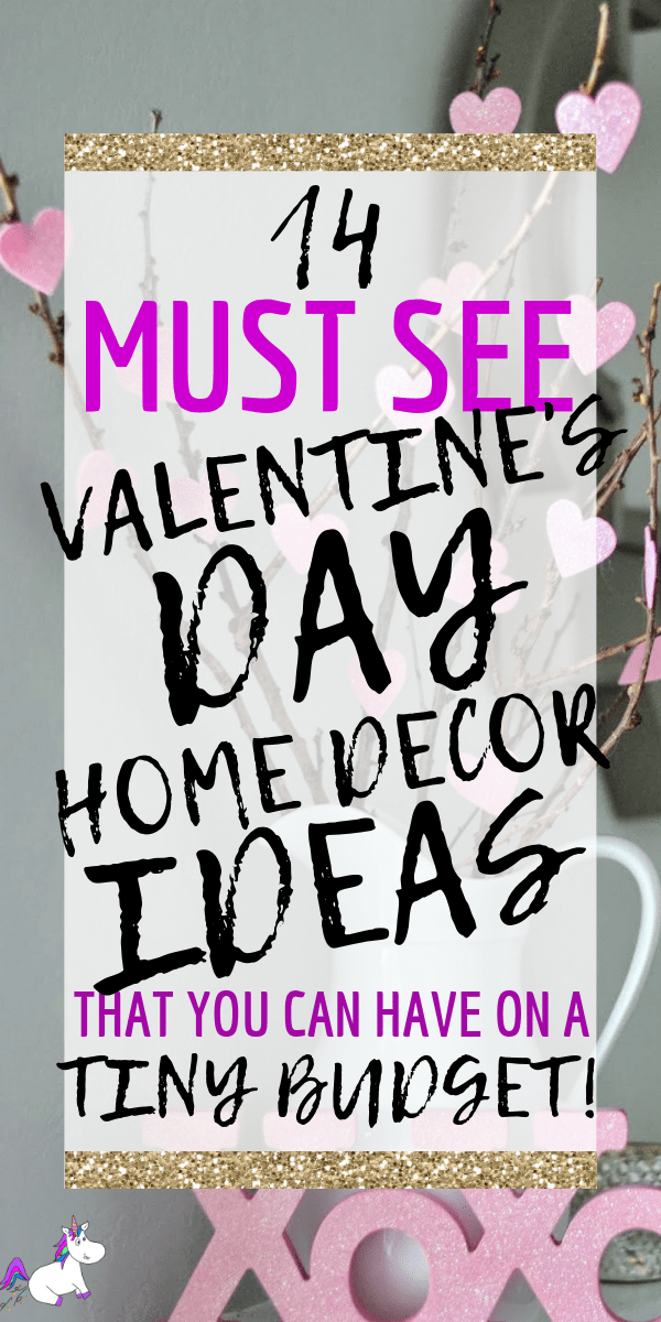 14 Stunning Valentine's Day Decoration Ideas you Will Seriously Fall In Love With This Year! #valentinesdaydecorationideas #valentines #valentinesdaycrafts #valentinesdecor #themummyfront Via: https://themummyfront.com   cute decor   home decor on a budget   Valentines on a budget   valentines decorations
