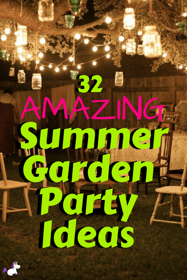 32 Amazing Garden Party Ideas You Need To Try Right Now | The Mummy ...