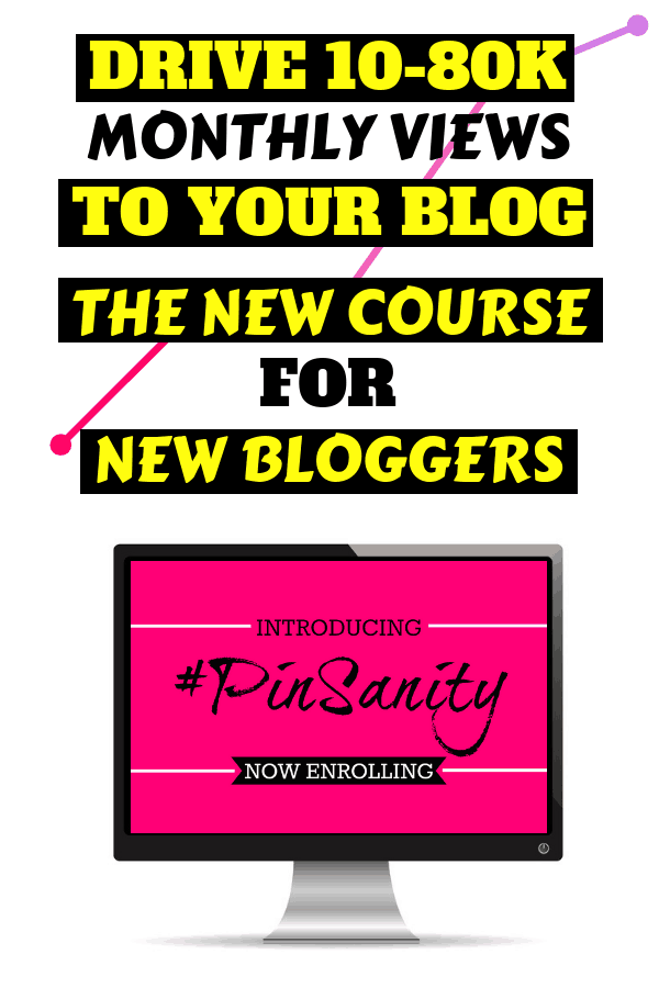 The New Bloggers Ultimate Guide For Pinterest Traffic | Drive 10-80K Monthly Visitors to Your Blog Without Losing Your Sanity | Pinterest Strategy | Pinterest Tips #pintereststrategy #pinteresttips #pinterest #bloggingtips #themummyfront.com #pinsanity #blogging #pinterestmarketing #pinterestcourse #onlinebusinesstips #onlinecourse