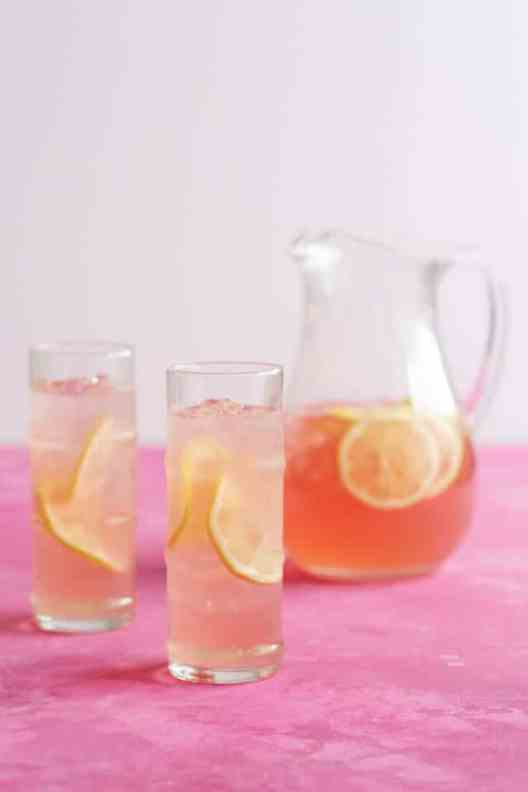 Summer Party, Rose lemonade, garden party