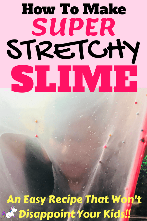 How To Make Super Stretchy Slime... A Recipe That Won't Disappoint Your Kids #slime #slimerecipe #howtomakeslime #easyslime
