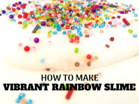 Rainbow Slime For Kids | A Foolproof Slime Recipe!