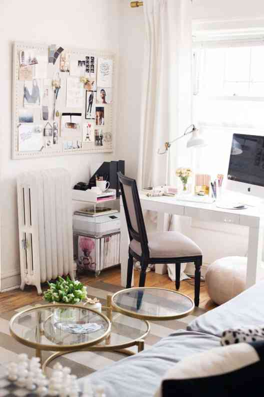 Small Home Office Ideas That Will Make You Want to Work Overtime #modernhomeoffice #interiordesign
