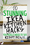 IKEA Kitchen Hacks ~ 10 Ideas That'll Make Your Home Look Amazing On A Tiny Budget!